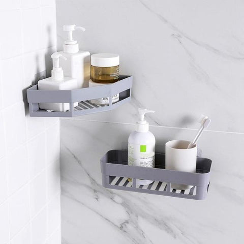 Corner Bathroom Shelves