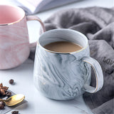 Luxury Marble Pattern Ceramic Mug