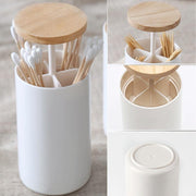 Automatic Wooden Toothpick Holder