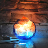 Ice and Fire Himalayan Salt Lamp