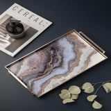 Linza - Nordic Marble Bathroom Storage Tray