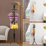 Sadira - Multi Hook Hanging Clothes Rack - Silky decor