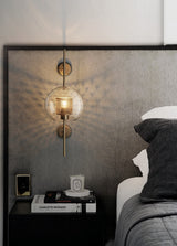 Industrial style wall lamp