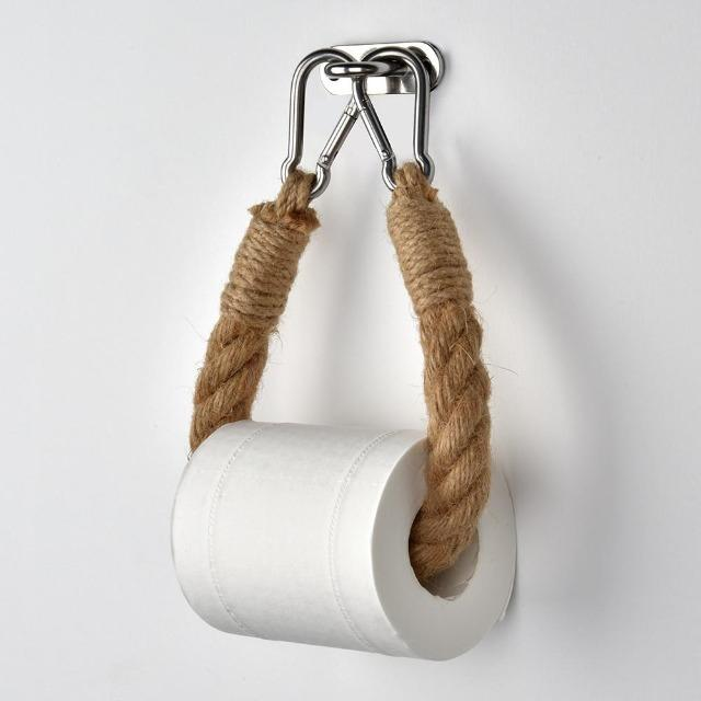 Jeana - Vintage Rope Toilet Tissue Holder