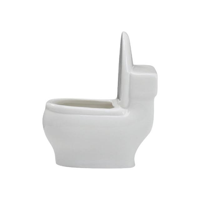 Bernadette - White Ceramic Flower Planter - Silky decor