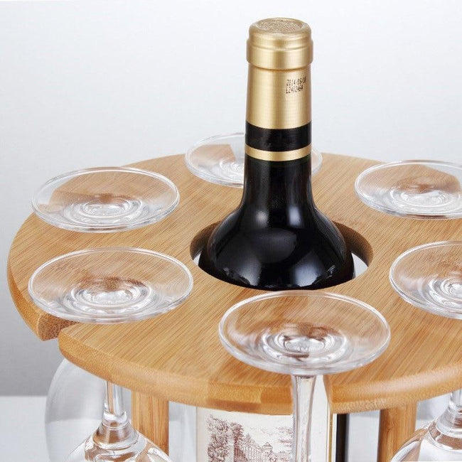 Beautiful Wine Bottle Storage Shelf - Silky decor