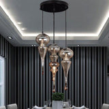 Pinya - Exotic Glass Chandelier - Silky decor