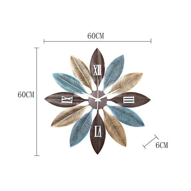 Delta - Nordic Creative Silent Wall Clock - Silky decor