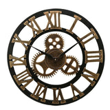 Industrial Style Wall Clock