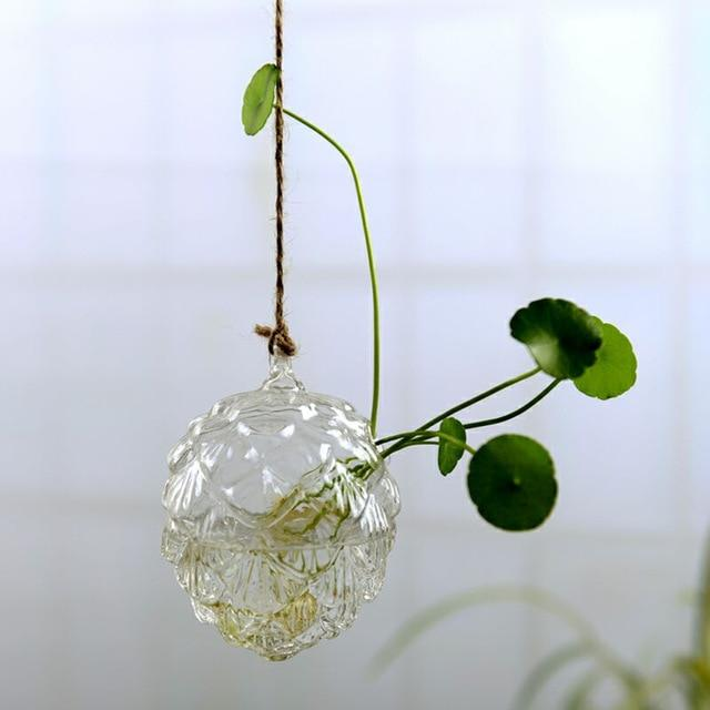 Jing - Hydroponic Hanging Flower Pot - Silky decor
