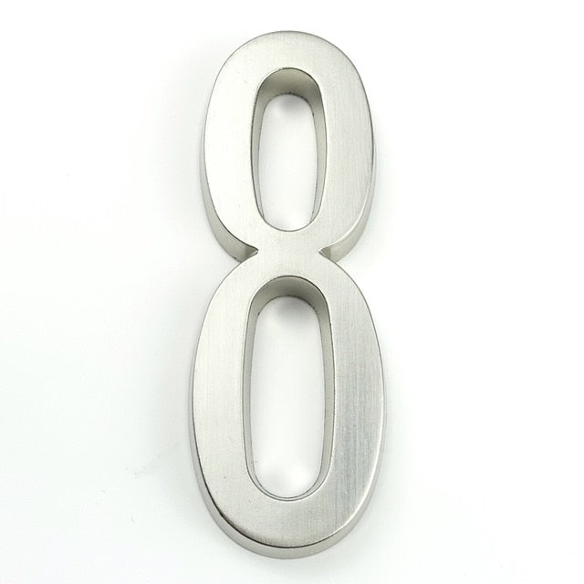 Nummer - Modern House Numbers