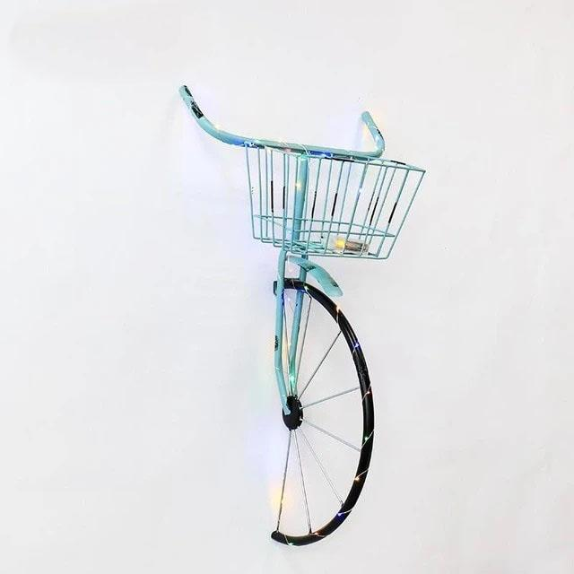 Eden - Creative Wind Bicycle Wall Decoration - Silky decor