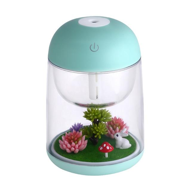 Akila - Colorful Night Light Humidifier - Silky decor