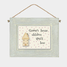 Load image into Gallery viewer, Granny's House Wooden Sign