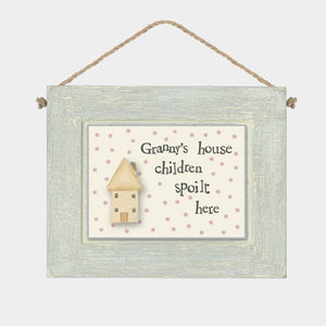 Granny's House Wooden Sign