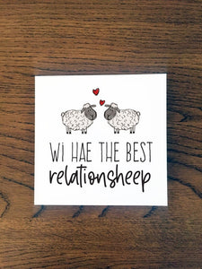 Anniversary Card - Best Relationsheep