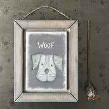 Load image into Gallery viewer, Woof Wooden Picture