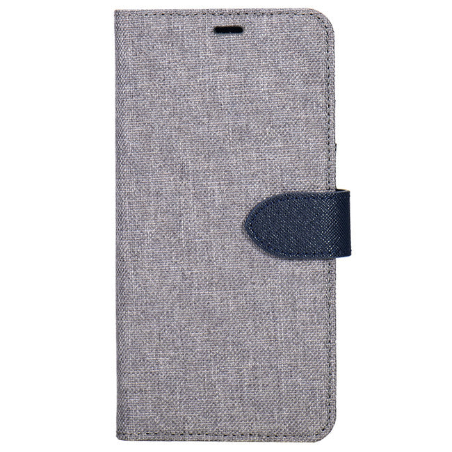 Blu Element - 2 in 1 Folio Case Grey/Blue for iPhone XR - Beyond Wireless Inc. Canada