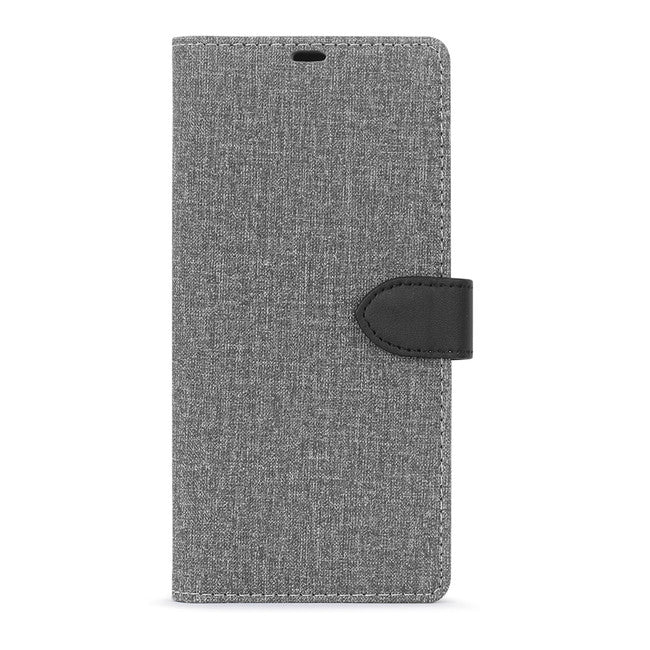 Blu Element - 2 in 1 Folio Case Gray/Black for Samsung Galaxy Note10+ - Beyond Wireless Inc. Canada