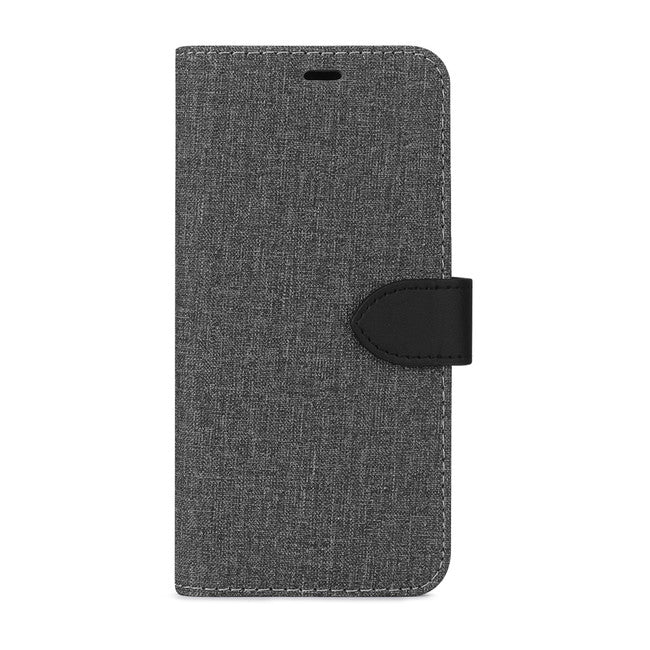Blu Element - 2 in 1 Folio Case Gray/Black for Google Pixel 4 XL