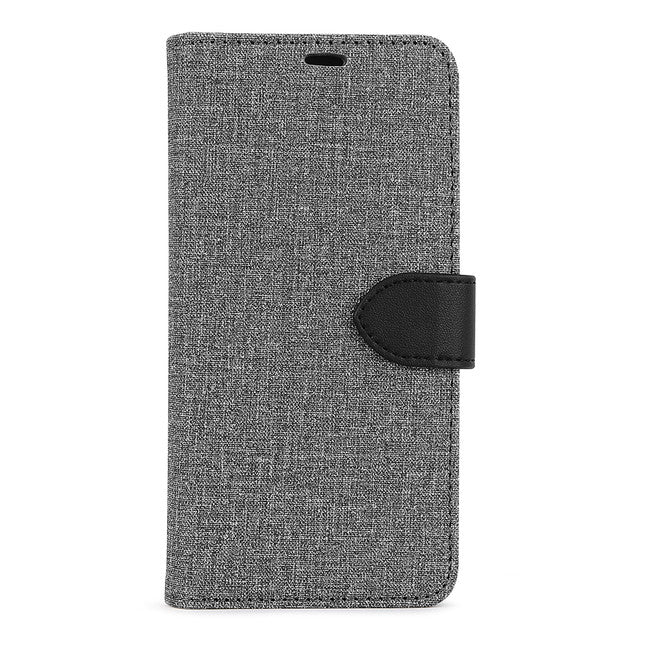 Blu Element - 2 in 1 Folio Case Gray/Black for Samsung Galaxy S20 FE