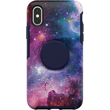 Otterbox Symmetry+Pop - iPhone XS (Blue Nebula) - Beyond Wireless Inc. Canada