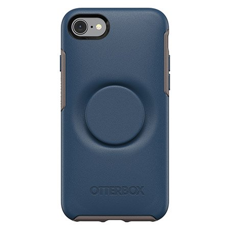Otterbox Symmetry+ PopSocket - iPhone 7/8 (Blue) - Beyond Wireless Inc. Canada