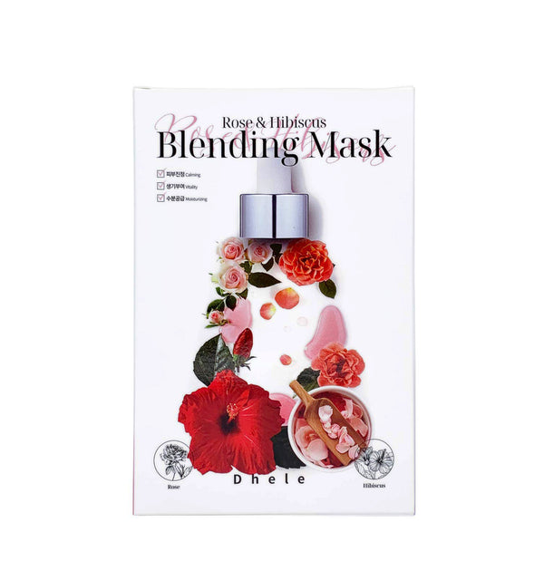 Dhele Blending Mask (Rose & Hibiscus).