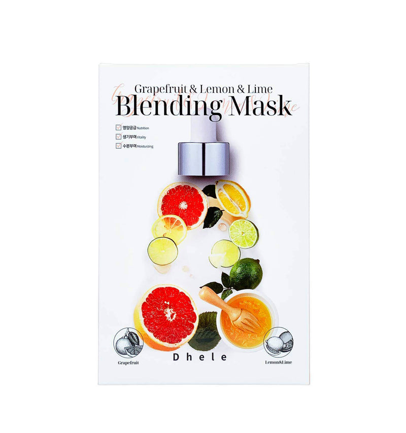 Dhele Blending Mask (Grapefruit & Lemon & Lime).