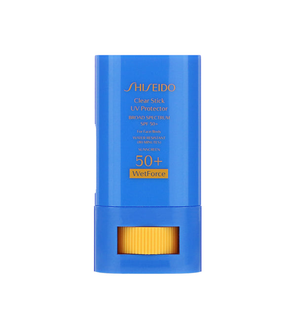 SHISEIDO Clear Stick UV Protector Sunscreen SPF 50.