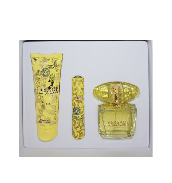 VERSACE Yellow Diamond Gift Set.