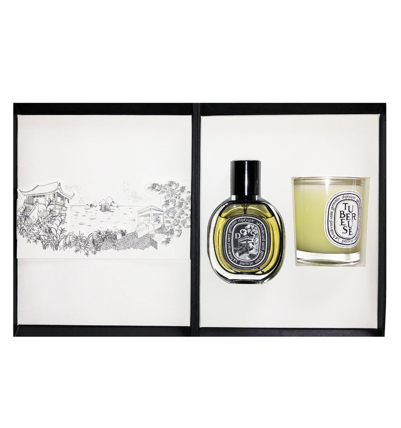 diptyque DOSON EDP And TUBEREUSE Candle Duo.