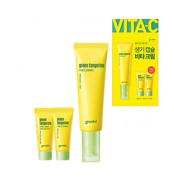 goodal Green Tangerine Vita C Cream 50ml Set