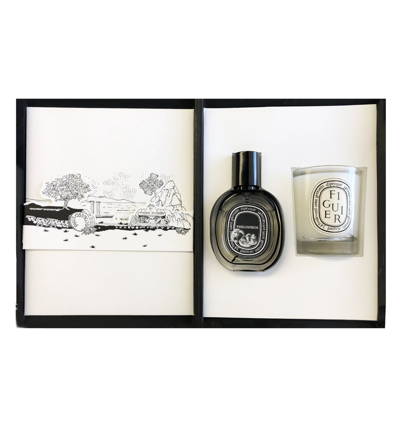 diptyque Philosykos EDP And Figuier Candle Duo.
