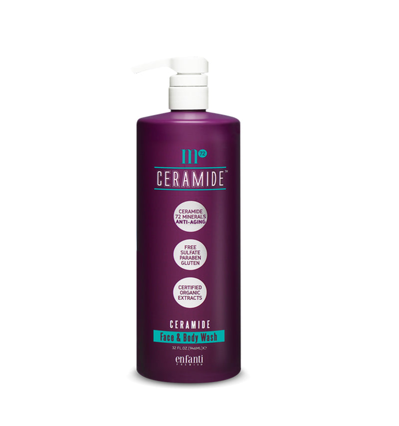 BIOKEN M72 Ceramide Face & Body Wash.
