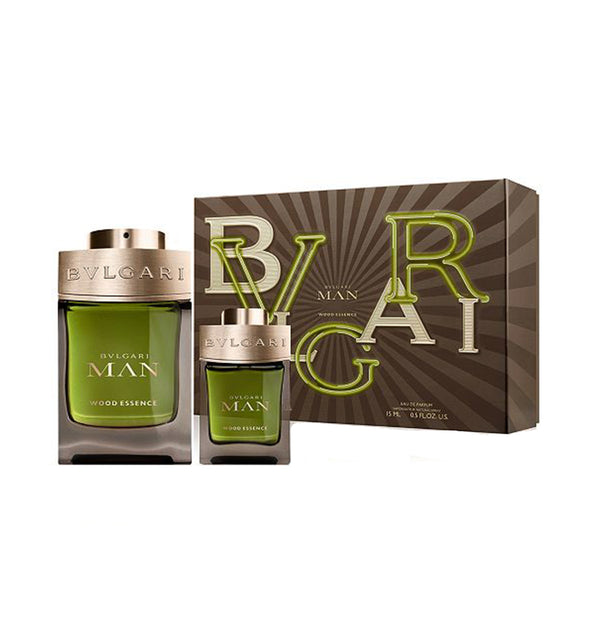 BVLGARI Man Wood Essence Eau De Parfum Gift Set