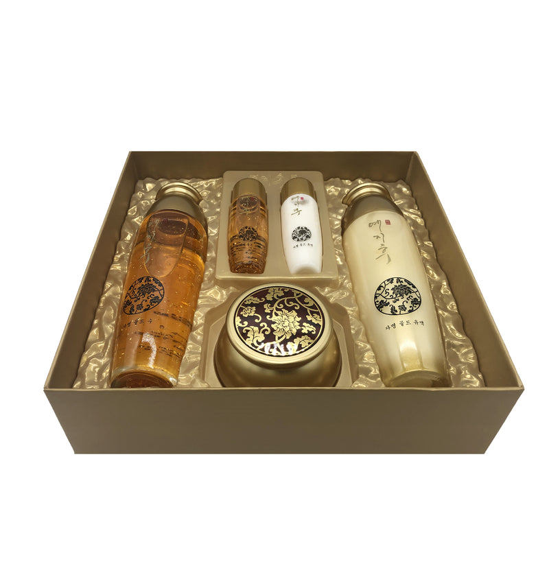 Yezihu Gold Skin Care Set.
