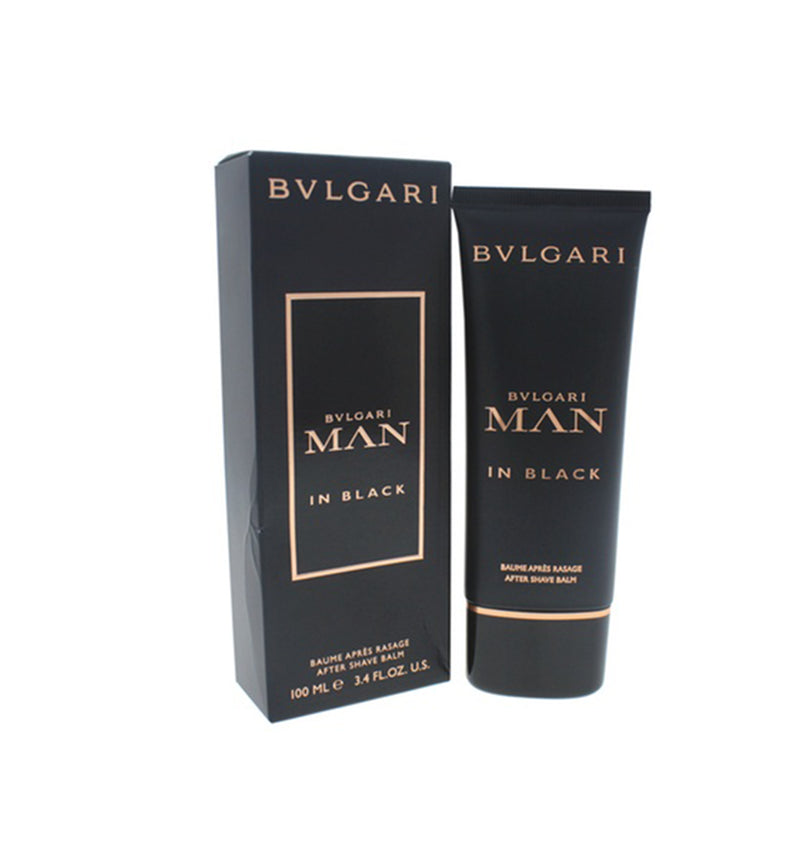 BVLGARI Man in Black by Bvlgari, Aftershave Balm 3.4 OZ.