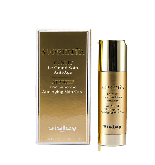SISLEY Supremÿa at Night Supreme Anti-Aging Skin Care Cream.