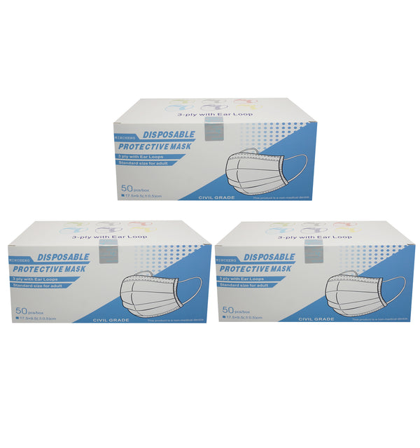 Individual Packages Dental Mask 50 pcs X 3BOX