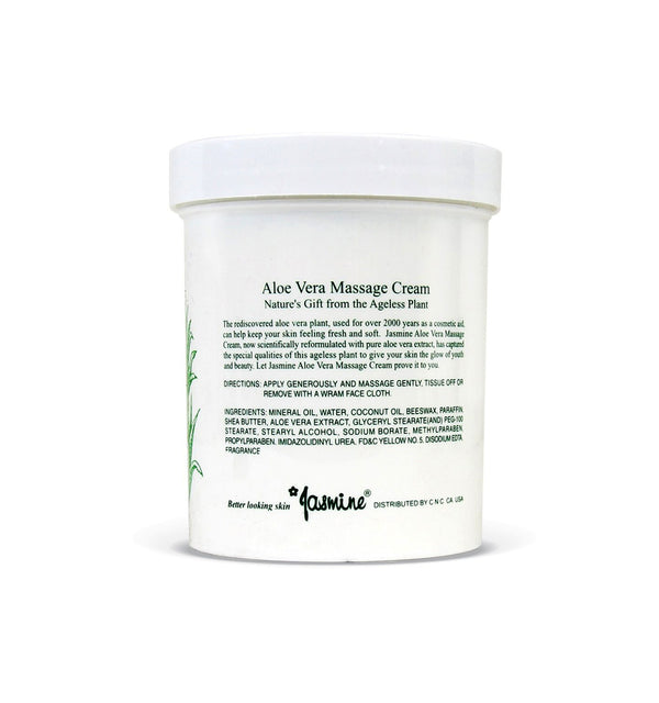 Jasmine Aloe Vera Massage Cream.