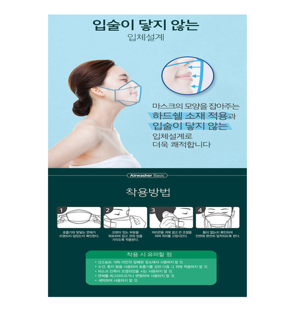 KF94 ANTI VIRAL MASK WHITE (LG AIRWASHER).