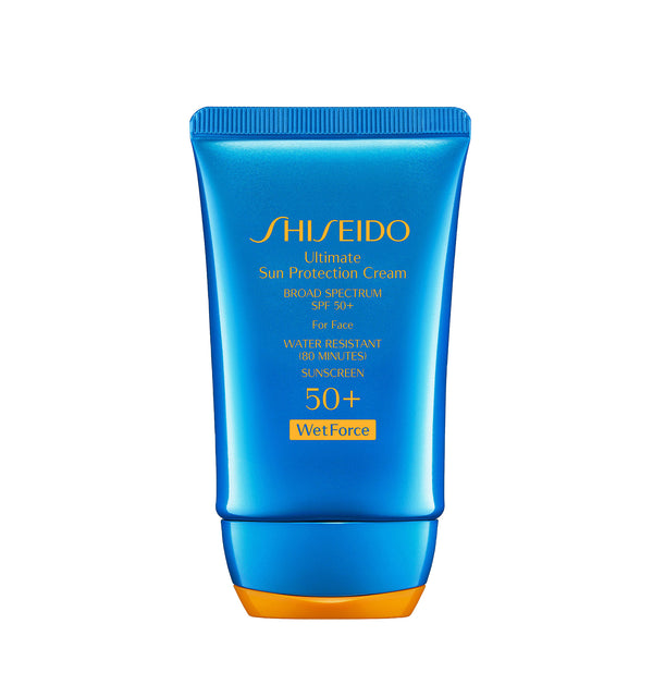 Shiseido Ultimate Sun Protector Cream SPF 50+ Sunscreen.
