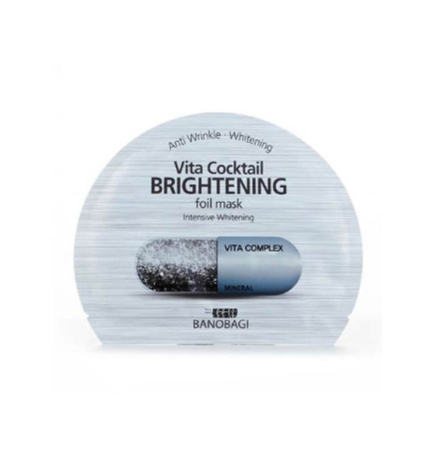 BNBG Vita Cocktail Brightening Foil Mask.