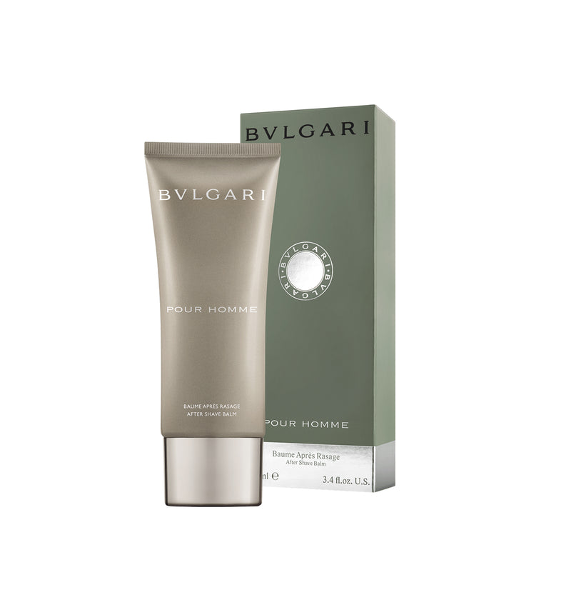 BVLGARI POUR HOMME AFTER SHAVE BALM 3.4 OZ.