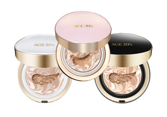 AGE 20'S SIGNATURE ESSENCE COVER PACT LONG STAY + REFILL.