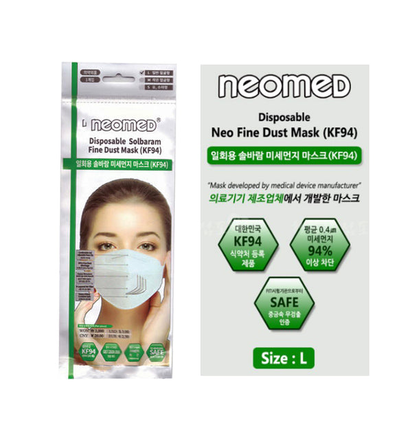 KF94 ANTI VIRAL MASK(NEOMED).