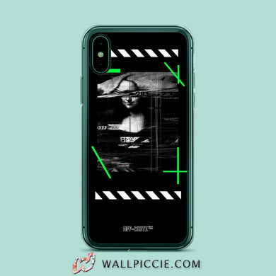 Coque iPhone XROFF WHITE Rough Coque Compatible iPhone XR