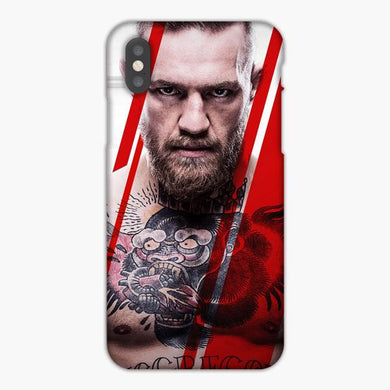 Coque iphone X XS Max XR Conor Mcgregor Ultimate Fighting Championship