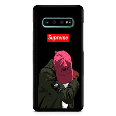 Yeezy Taught Me Supreme X5006 Casing coque Samsung Galaxy S10  Premium